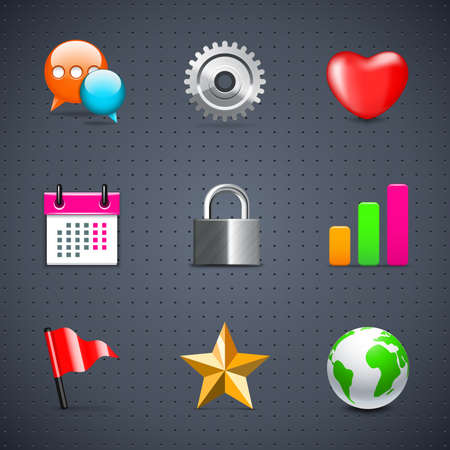 favorite colour: Internet and Web icons