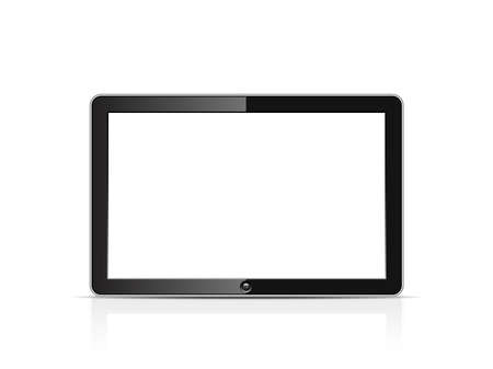 Blank tablet Stock Vector - 20331166