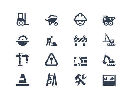 camion grua: Iconos de construcci?n