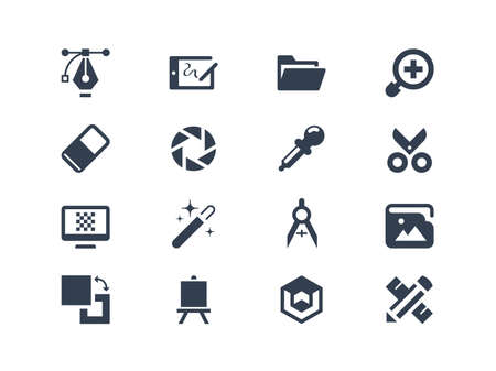 icons: Graphic design icons