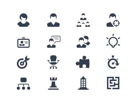 estrategia: Los recursos humanos y los iconos de la estrategia