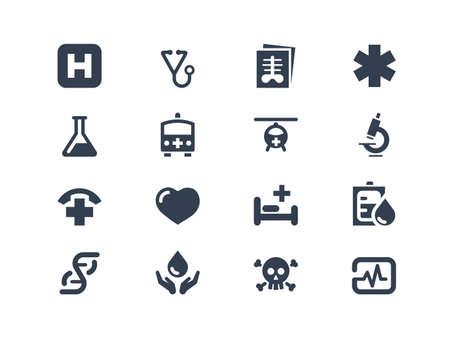 iconos medicos: Iconos m�dicos y de salud