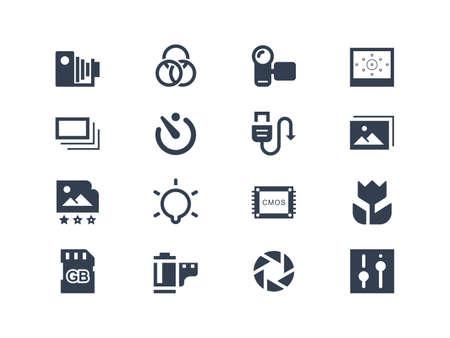 sensores: Iconos de Fotograf?a