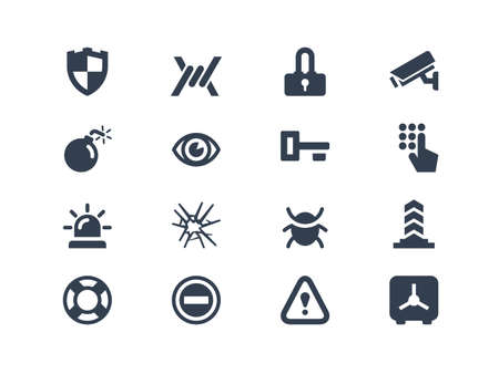 icons: Security icons