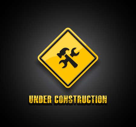 under construction symbol: Under construction symbol