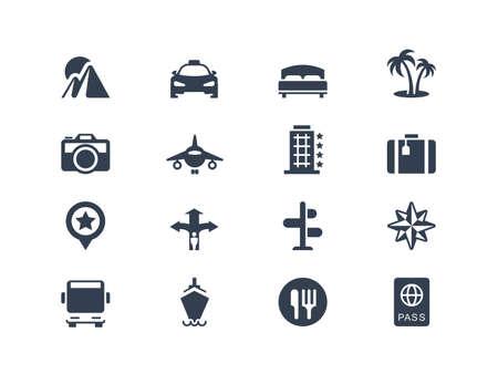 flèche double: Voyage de vacances et des ic?