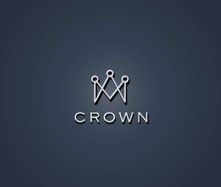 Crown symbol Illustration