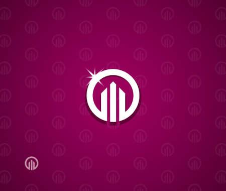 不動産のシンボル  イラスト・ベクター素材