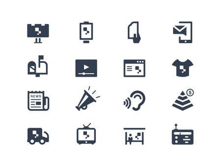 buzon de correos: Iconos advertisign