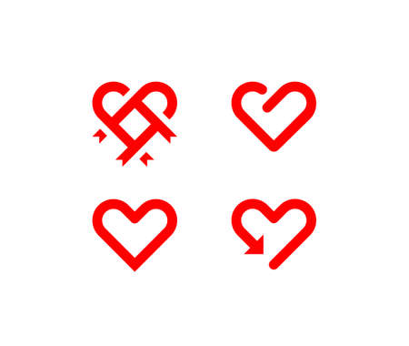 Heart line symbol