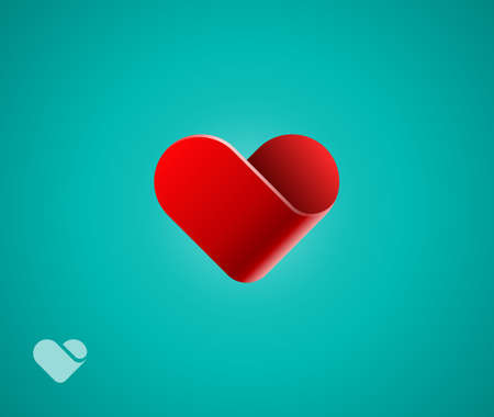 care: Heart symbol Illustration