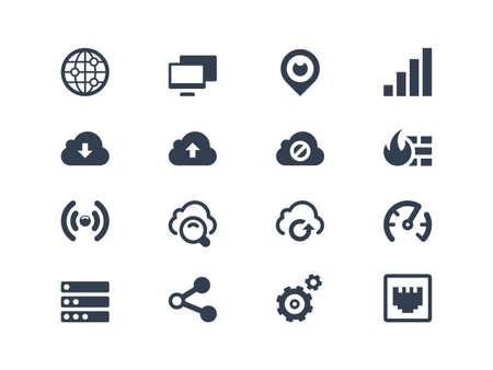 fire plug: Network icons