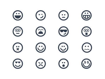 sad love: Smile icons