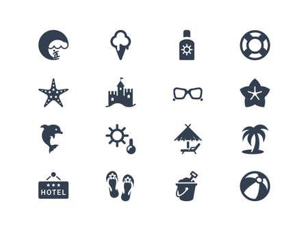 sunglasses: Verano y playa iconos