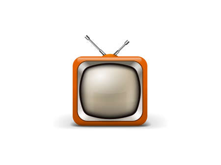 watch video: Old tv icon