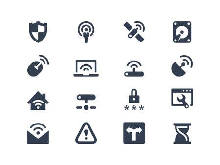 wireless network: Iconos de la red inal�mbrica