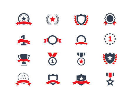 star award: Award icons set