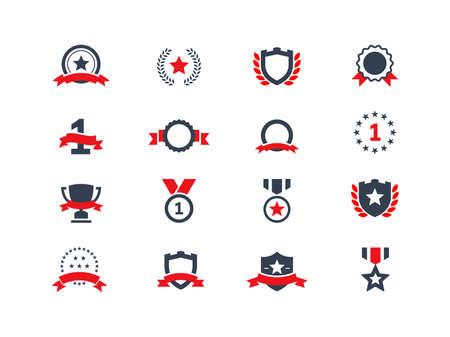 primer lugar: Iconos de adjudicación establecidos