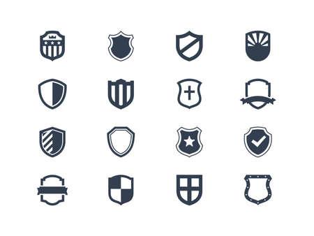 insignias: Escudo iconos