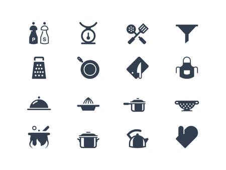 utencilios de cocina: Iconos de la cocina