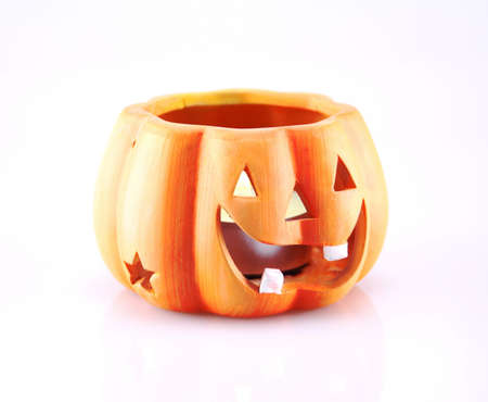 Beautiful Halloween Pumpkin  Scary Jack O Stock Photo - 15607506
