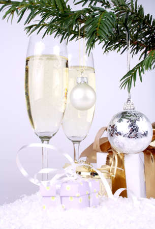 Silver New Year Stock Photo - 16535863