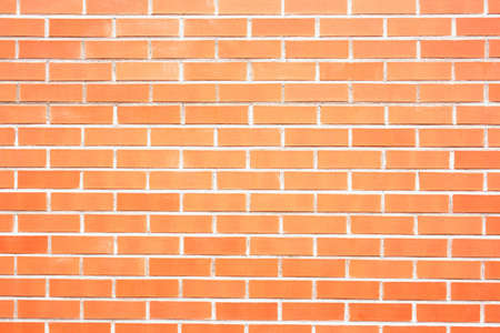 New red brick wall as background closeup Stock Photo - 17361735