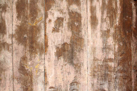 Old brown wooden door as antique background closeup Stock Photo - 17361739