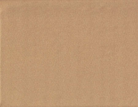 Brown packing paper as background, close up