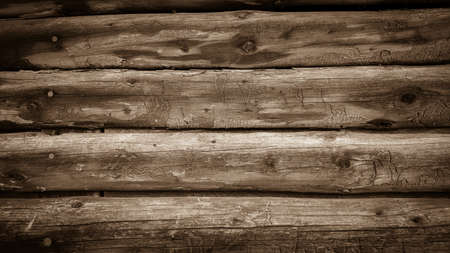 laths: Wall from old wooden laths Semicircular as background Stock Photo