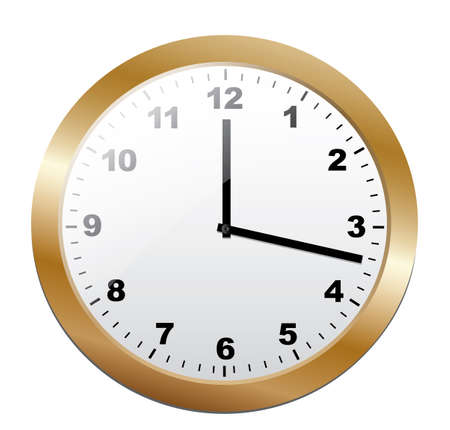 Clock. Vector