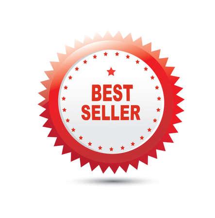 vendedor: Etiqueta de superventas
