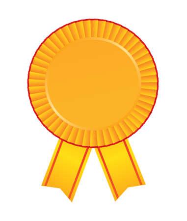 glossy button: blank award.