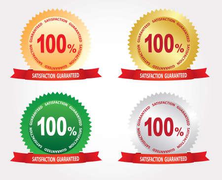 satisfaction guaranteed: Labels - Satisfaction, guaranteed 100.