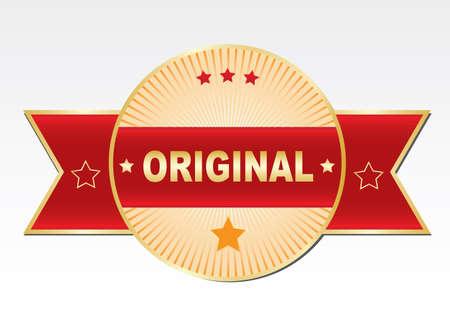 Sticker - original. Ilustração