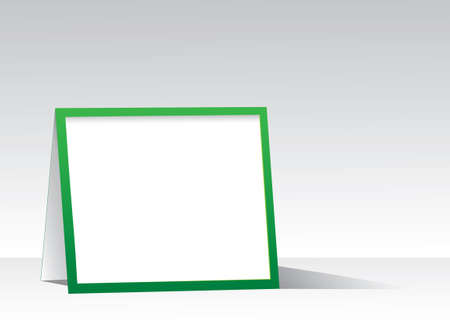 Advertising stand. Vector