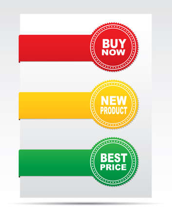 Stickers - buy now, new product, best price Illustration