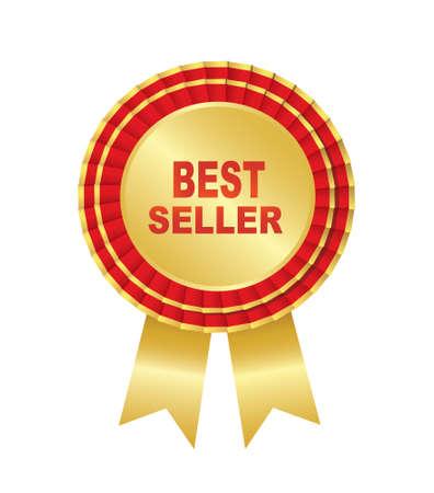 bestseller: Bestseller labels. Vector