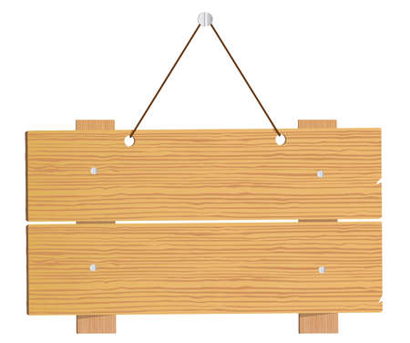 letreros: Letreros de madera.