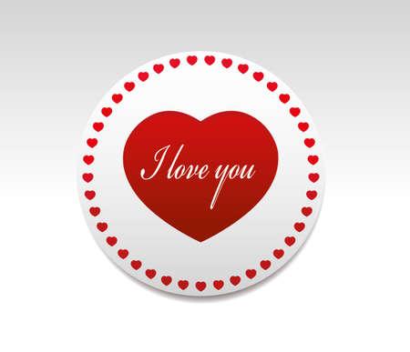 i love you symbol: I love you symbol.