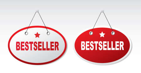 tape marker: 2 panels with text - Bestseller.