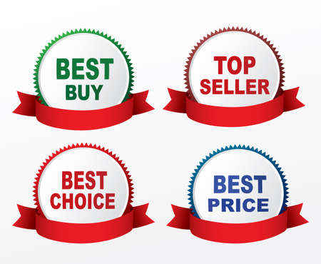 best quality: Best buy, top seller, best choice,best price labels.
