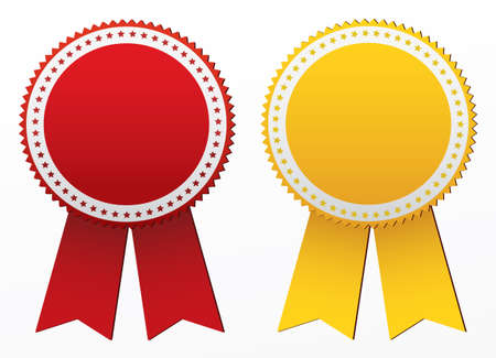 elect: Awards. Vector Illustration