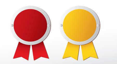 Awards. Vector Illustration