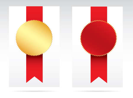 qualify: Awards. Vector Illustration