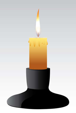 candlestick: Candle holder