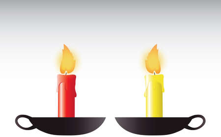 candlestick: Candles holder