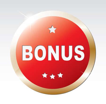 Label - Bonus. Ilustrace
