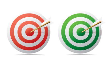 Targets and arrows. 版權商用圖片 - 45226639