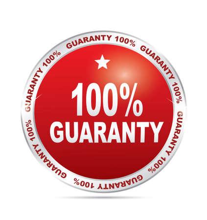 guaranty: Label - 100 guaranty